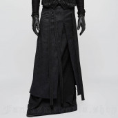 men's Phantom Men's Skirt by PUNK RAVE brand, code: Q-340