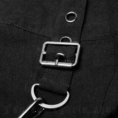 men's Argoth Men's Skirt by PUNK RAVE brand, code: WQ-362/BK