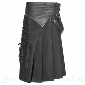 men's Catharsis Kilt by PUNK RAVE brand, code: WQ-372