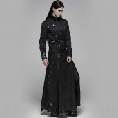 men's Nocturn Men's Skirt by PUNK RAVE brand, code: WQ-437