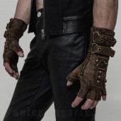 men's, women's Mad Max Gloves (Pair) by PUNK RAVE brand, code: WS-252/CO