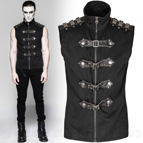 men's Commandant Top by PUNK RAVE brand, code: Y-741