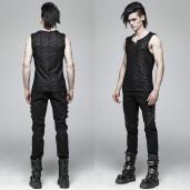 men's Psychonaut Top by PUNK RAVE brand, code: WT-563