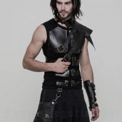 men's Robot Top by PUNK RAVE brand, code: T-515