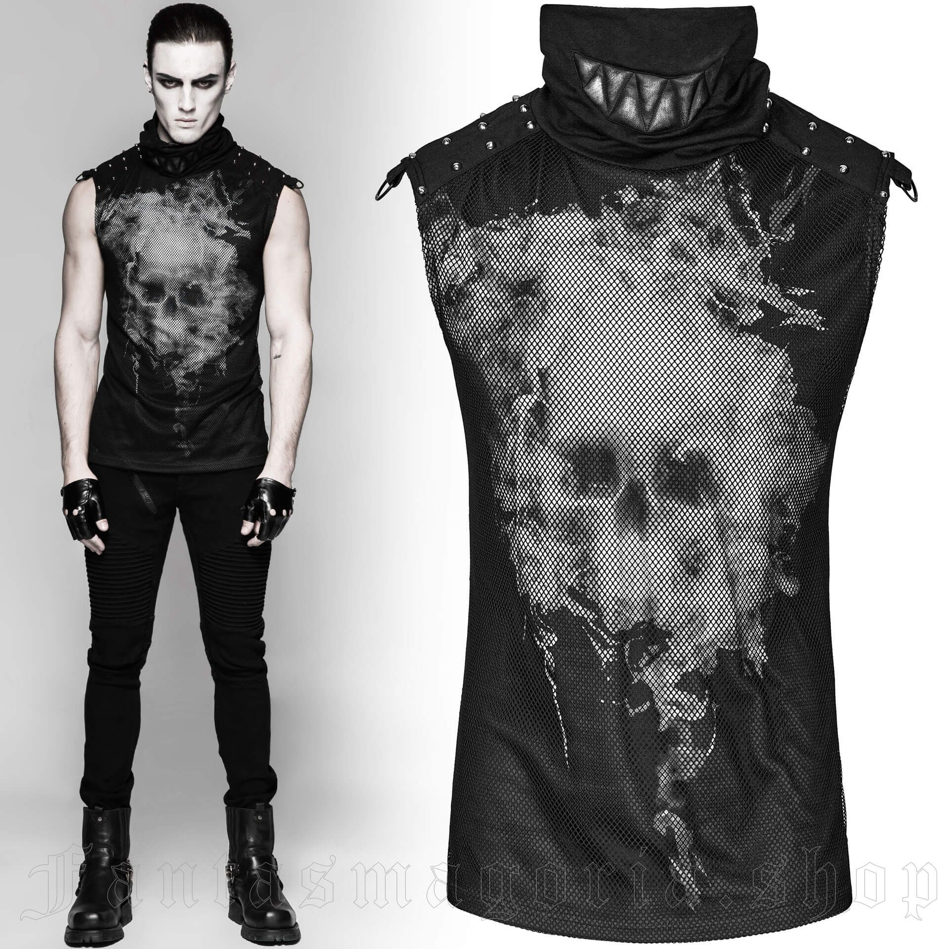 men's Ghosts Top by PUNK RAVE brand, code: T-470