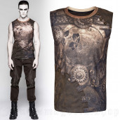 men's Mechanical Top by PUNK RAVE brand, code: T-466/CO