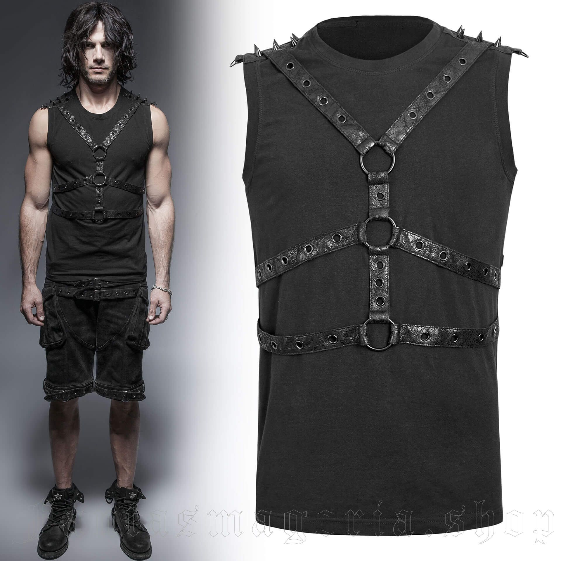 men's The Smog Top by PUNK RAVE brand, code: T-422