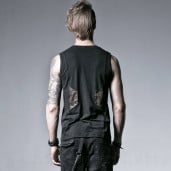 men's The Mechanism Top by PUNK RAVE brand, code: T-352