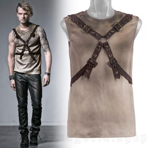 men's Diablo Top by PUNK RAVE brand, code: T-351/CO