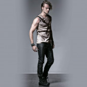 men's Diablo Top by PUNK RAVE brand, code: T-351/CO