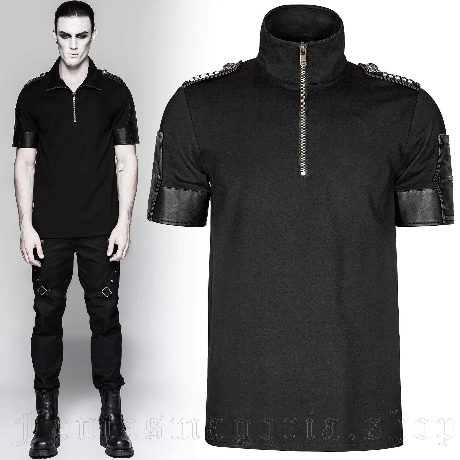 men's Mister Sinister Top by PUNK RAVE brand, code: T-459