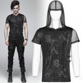 men's Ghost Bullet Top by PUNK RAVE brand, code: WT-560