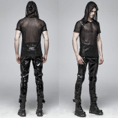 men's Oil Spill Mesh Top by PUNK RAVE brand, code: WT-566