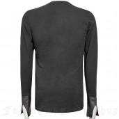 men's The Malkavian Longsleeve Top by PUNK RAVE brand, code: T-423
