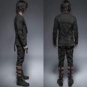 men's Predator Longsleeve Top by PUNK RAVE brand, code: T-426