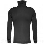 men's Militarist Longsleeve Top by PUNK RAVE brand, code: T-443