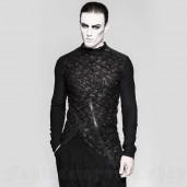 men's Psychonaut Longsleeve Top by PUNK RAVE brand, code: T-458