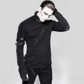men's Relict Longsleeve Top by PUNK RAVE brand, code: T-461