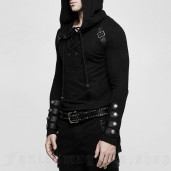 men's Nergal Longlseeve Top by PUNK RAVE brand, code: T-483