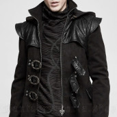 men's Phantom Longsleeve Top by PUNK RAVE brand, code: T-485