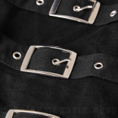 men's Bast Bondage Longlseeve Top by PUNK RAVE brand, code: T-486
