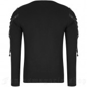 men's Renegade Longsleeve Top by PUNK RAVE brand, code: T-487