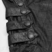 men's Alien Skin Longsleeve Top by PUNK RAVE brand, code: WT-579