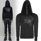men's Reptilian Hoodie by PUNK RAVE brand, code: WT-512