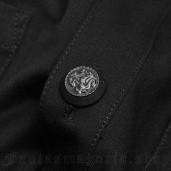 men's Deimos Shirt by PUNK RAVE brand, code: WY-1110/BK