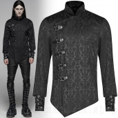 men's Sinamore Shirt by PUNK RAVE brand, code: WY-1105