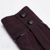 men's Bleeding Cherry Shirt by PUNK RAVE brand, code: WY-1071/BK-RD
