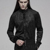 men's Nocturn Shirt by PUNK RAVE brand, code: WY-1067