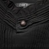 men's Charon Shirt by PUNK RAVE brand, code: WY-1029/BK