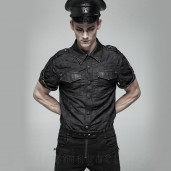 men's Kamikaze Shirt by PUNK RAVE brand, code: WY-1006