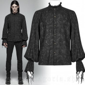 men's Decadent Lover Shirt by PUNK RAVE brand, code: WY-1003