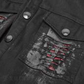 men's Hellraiser Shirt by PUNK RAVE brand, code: OY-946