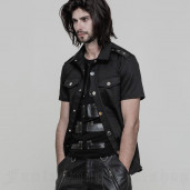 men's Renegade Shirt by PUNK RAVE brand, code: OY-860