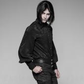 men's Gothic Romeo Shirt by PUNK RAVE brand, code: OY-912