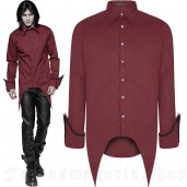 men's Gangrel Shirt by PUNK RAVE brand, code: WY-907/RD