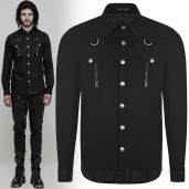 men's Argoth Shirt by PUNK RAVE brand, code: OY-875