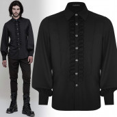 men's Valter Shirt by PUNK RAVE brand, code: WY-846