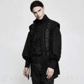 men's Regent Shirt by PUNK RAVE brand, code: Y-804