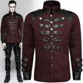 men's Mephisto Shirt by PUNK RAVE brand, code: Y-753/RD