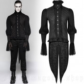 men's Dracula Shirt by PUNK RAVE brand, code: Y-739