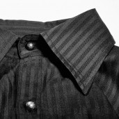 men's Edward Shirt by PUNK RAVE brand, code: Y-719/BK