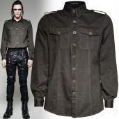 men's Commandant Shirt by PUNK RAVE brand, code: Y-715