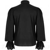 men's Nightdreamer Shirt by PUNK RAVE brand, code: WY-1182/BK