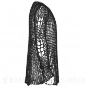 men's Black Ruin Sweater by PUNK RAVE brand, code: OPM-004/Male