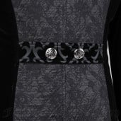 men's Der Graf Coat by PUNK RAVE brand, code: Y-433