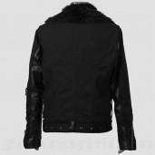 men's Locomotive Jacket by PUNK RAVE brand, code: Y-486